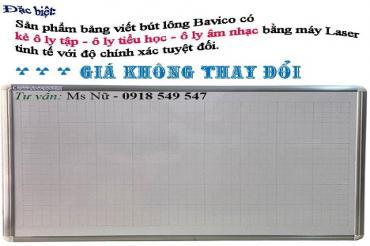 Bảng mica trắng giá rẻ Poly Taiwan viết bút lông