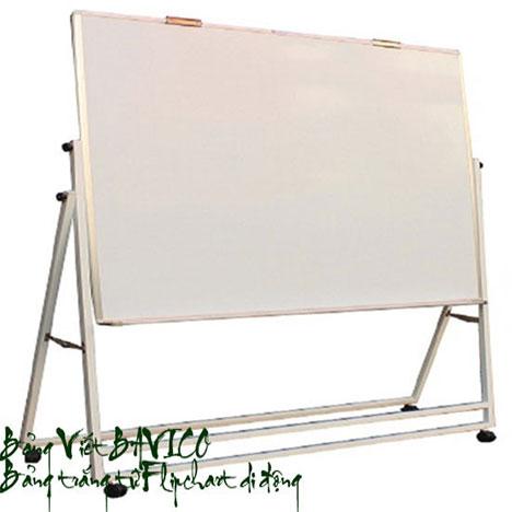 Bảng Flipchart từ Hàn Quốc viết bút lông chân sắt sơn tĩnh điện