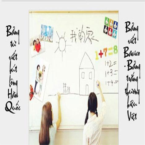Bảng viết bút lông từ Hàn Quốc