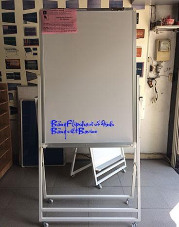 Bảng viết bút lông không từ - Bảng Flipchart cố định